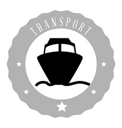 means of transport vector image