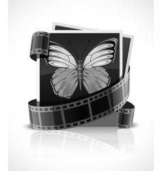 photo logo vector image vector image