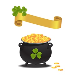 patrick day vector image