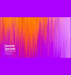 Abstract glitch distortion lines background vector