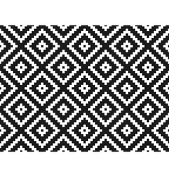 Seamless modern stylish texture and pattern White vector image