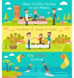 Spain entertainment festivals holidays vector
