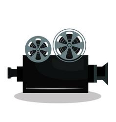 video camera cinema icon vector image vector image