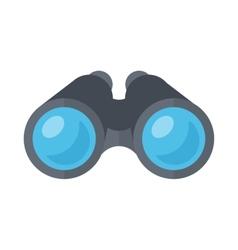 Binoculars spy glasses vector image vector image
