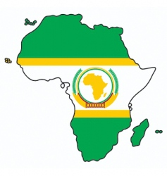 african union vector image vector image