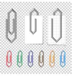 clip attached vector image