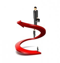 career success vector image