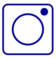 instagram logo design icon vector image