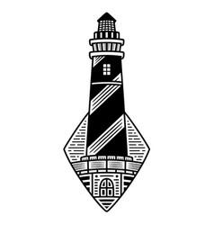 monochrome logo vector image