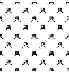 plastic bottle cover pattern seamless vector image