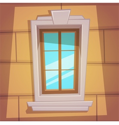 Retro Cartoon Window vector