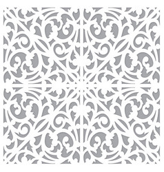 Seamless pattern ornament decorate vector