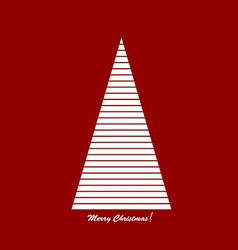Stylised Christams tree vector