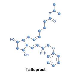 Tafluprost is a prostaglandin analogue vector