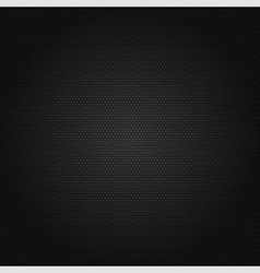 Black honeycomb background vector image