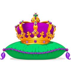 Mardi Gras crown vector image