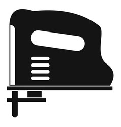 Pneumatic gun icon simple vector