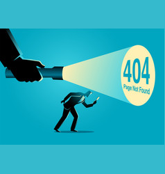 404 error page not found sign vector image