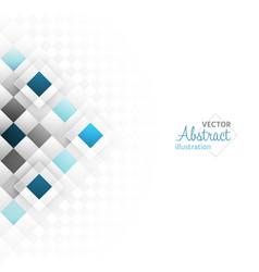 Abstract background with a square geometric vector