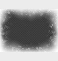Abstract christmas frame overlay effect with vector