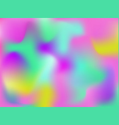 Bright holographic abstract background vector