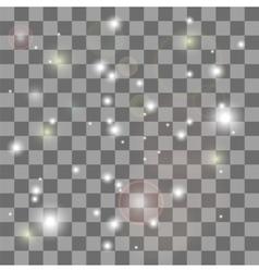 Glow Star Burst Light Effect vector
