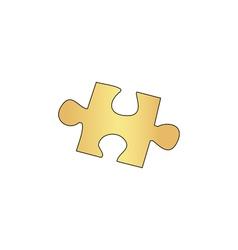 Puzzle computer symbol vector