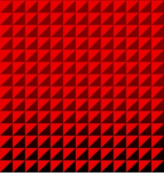 Red triangle polygon seamless pattern background vector