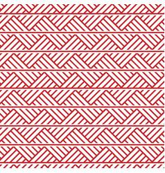 Slavic ornament seamless pattern vector