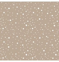Snow kraft paper seamless pattern vector