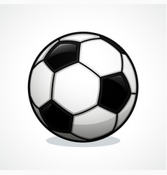 soccer ball icon design vector image