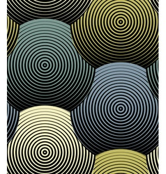 Striped Shells Seamless Pattern vector image