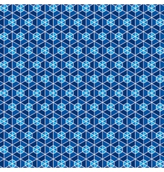 blue hexagon pattern background stock vector image vector image