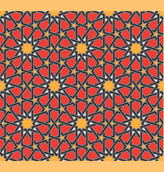 Classical moroccan geometric seamless pattern vector
