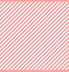 Diagonal pink lines on white background abstract vector