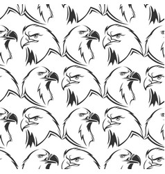 eagles seamless pattern design vector image