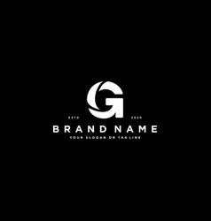 Letter g logo design vector