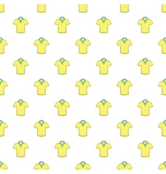 Men polo pattern cartoon style vector
