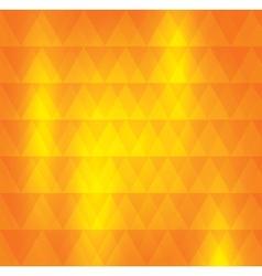 Orange pattern of geometric shape Colorful mosaic vector image