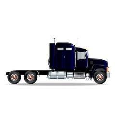 truck tractor unit vector image