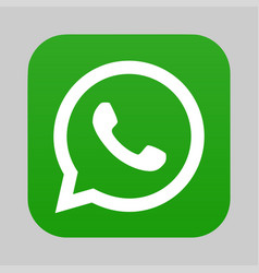 Whatsapp logo icon vector
