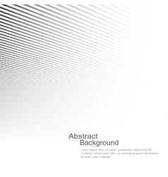 White striped copyspace vector image