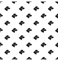 Beagle dog pattern simple style vector image vector image