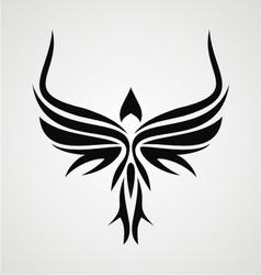 Tribal Bird vector image vector image