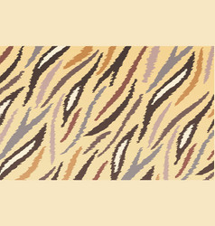 abstract striped animal colorful print texture vector image