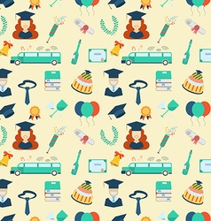 Graduation Elements Seamless Pattern Background vector image
