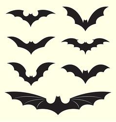 group bat vector image