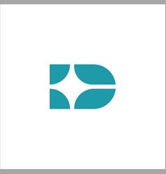 Infinite letter d logo vector