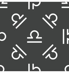 Libra symbol pattern vector image