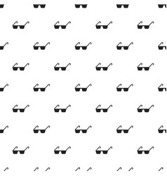 polycarbonate glasses pattern seamless vector image